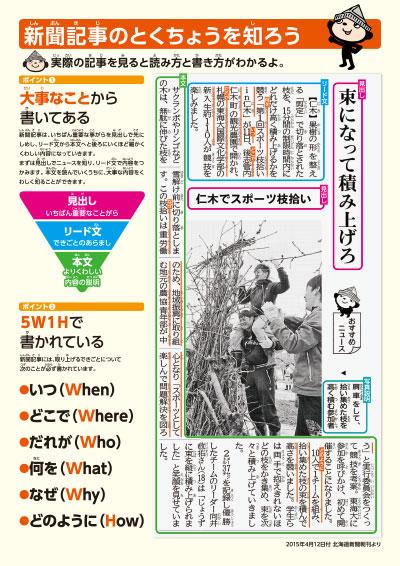 新聞活用シート2