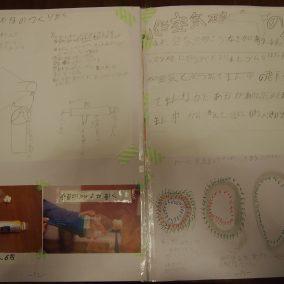 2年生の実験レポート「空気砲・空気リングってどんなもの?」