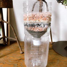 ペットボトル浄水器
