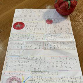好きな食べ物のトマト